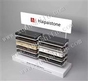 metal display tower for crystal stone