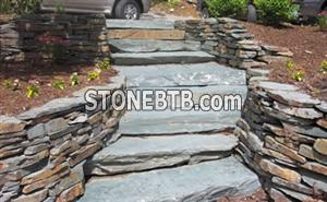 slate landscape stairs