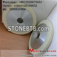 Vitrified bond diamond grinding wheel for natural diamond