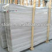 Wooden White Marble Slabs