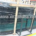 Silvery Dragon Black Marble Slab