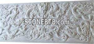 Relief, landscaping walls, wall sculpture, indoor and outdoor wall sculpture