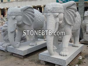 The Elephant ; Shi Xiang ; Landscape Images;Stone Animals; Stone Animals;