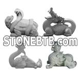 Animal ; Stone ;Animal Sculpture Animal ; Beast