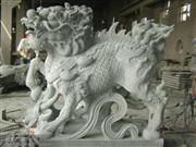 Animal ; Stone ;Animal Sculpture Animal ; Beast ;Unicorn sculpture