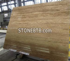 noce travertine slab