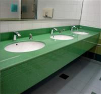 Green Bathroom Countertops