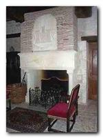 17th century fireplace
