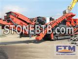 Construction Waste Mobile Crushing Station/Mobile Crusher And Screen
