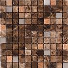 Metal and Marble Mix Mosaic