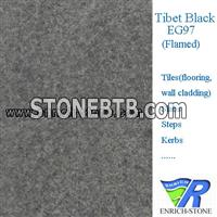 EG97 Tibet Black Granite Tiles