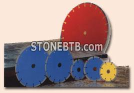 Discs for cutting marble granite
