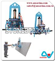 STONE VACUUM LIFTER 25 Lifter stone, saw machine, vacuum lifter, Aframe, carry clamp, material handling, dolley, slab rack