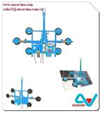 GLASS VACCUM LIFTER Lifter stone, saw machine, vacuum lifter, Aframe, carry clamp, material handling, dolley, slab rack