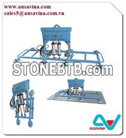 GLASS VACUUM LIFTER M5 Lifter stone, saw machine, vacuum lifter, Aframe, carry clamp, material handling, dolley, slab rack