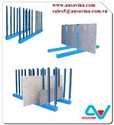 SLAB RACK SRK10R WITH RUBBER LINING frame for stone, stone storage a frame, truck aframe, stone rack, stone tool machine,granite, marble, move, transport