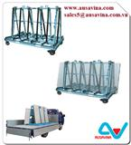 ONE STOP A-FRAME frame for stone, stone storage a frame, truck aframe, stone rack, stone tool machine,granite, marble, move, transport