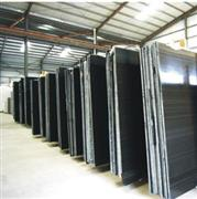 Chinese black granite slabs