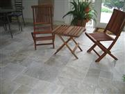 Travertine Silver Grey Tumbled