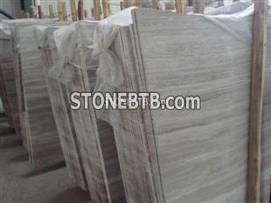 Grey Serpeggiante marble slab