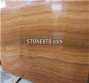 Yellow Wooden marble slab