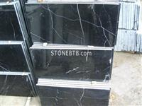 China Black Marquina Marble Tiles