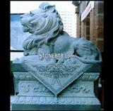 Granite Lion Sculpture