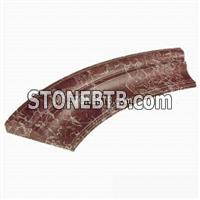Marble Curved line moulding