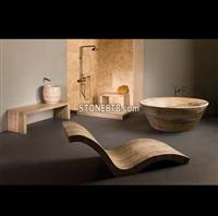 Stone sink and tub