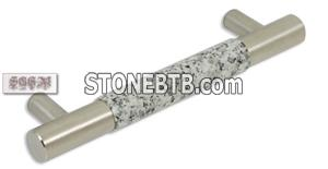 #60 Granite Brushed Stainless Steel Pull Napoli