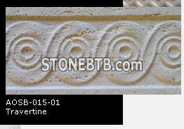 Beige Travertine Bordure