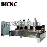 Multi Head Four Spindles Stone Carving Cnc Router