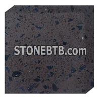 Golden diamond quartz stone BA-D121A