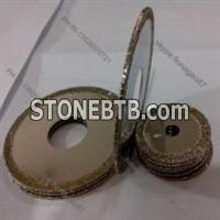 180mm Electroplated CBN Cutting Saw Blades