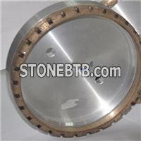 Outer Segemented Diamond Grinding Wheel For Glass Double Edging Machine
