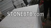 G654 granite flamed tiles