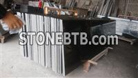 China absolutely black granite countertop
