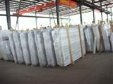 Staight Veins  White Marble