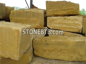 Yellow Sandstone Block 1