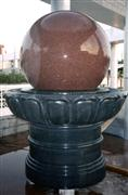Floating Stone Sphere Fountain