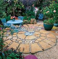 Squares and Rounds Patio