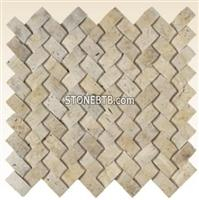 LT GOLD HERRINGBONE