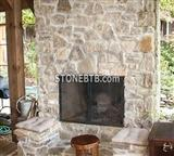 Quartzite Fireplace
