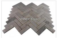 ASIAN STATUARY HERRINGBONE MARBLE TILE