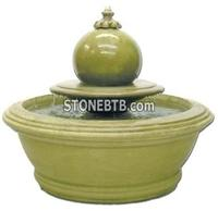 Small Anderson Garden Fountain with Sphere