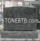 Blue Pearl Tombstone