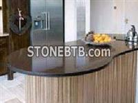 Special Shape Brown Marble Table Top