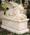 Winged lion with base