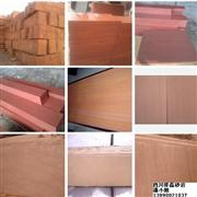 Red sandstone wall tiles