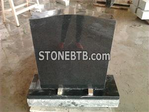 Simple Style Black Ggranite Monument